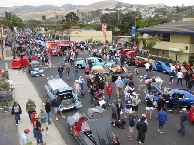 Cracked Crab Pismo Beach CA Photo Galleries Car Show - Pismo beach car show