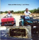 Kathy and Mike Touring J. Lohr Winery