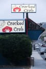 Cracked Crab sign